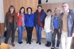 Jeunes Espagnols au Vésinet en mars 2019