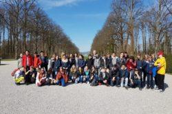 Mars-avril 2019: jeunes du Collège du Cèdre à Unterhaching
