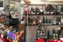 Le Comité de Jumelages sur le marché de Noël des commerçants le 11 Décembre