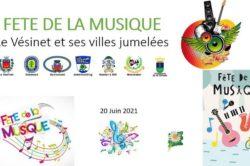 Fête de la Musique des Jumelages, dimanche 20 juin 2021